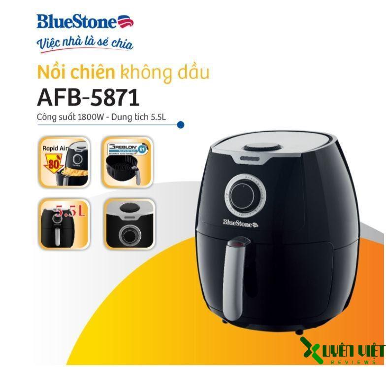nồi chiên không dầu bluestone afb-5871