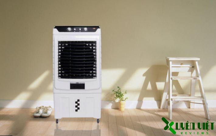quạt điều hòa chỉ tiêu thụ khoảng 1.2kg điện