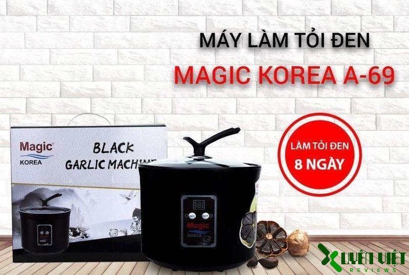 máy làm tỏi đen magic korea