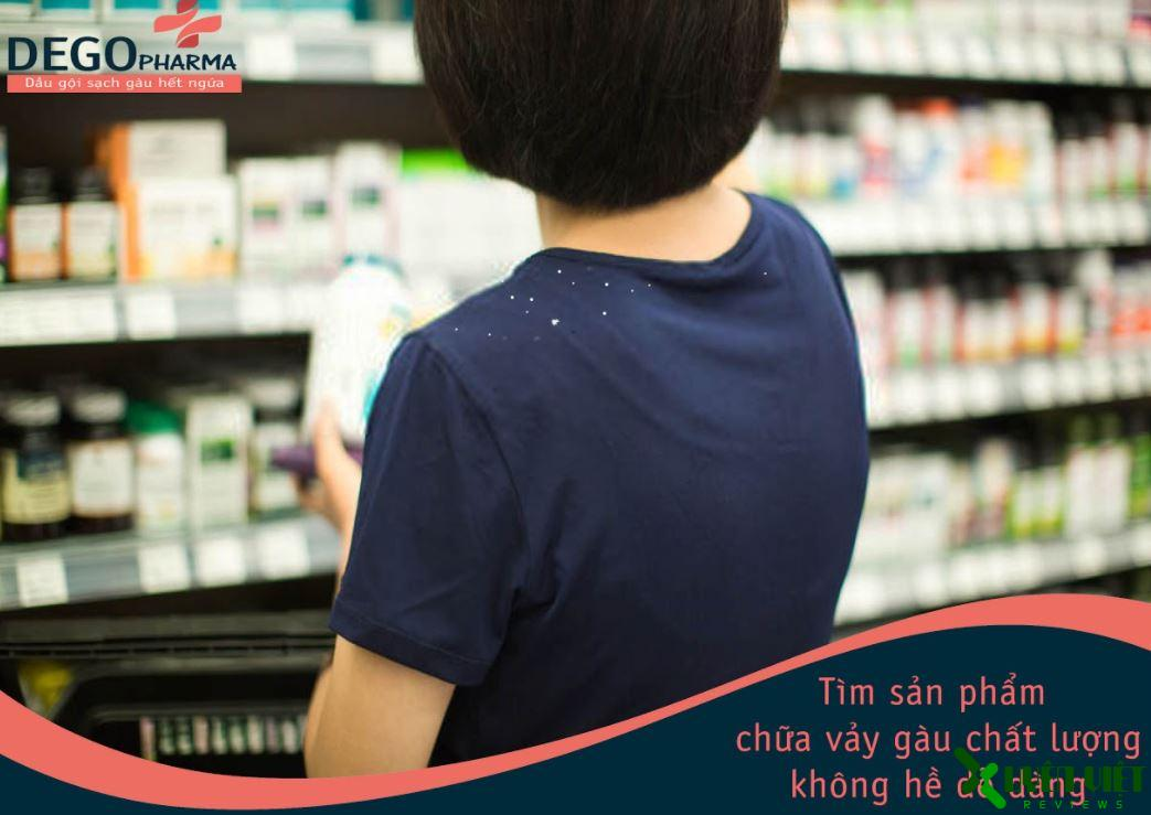 dầu gội dego pharma 12