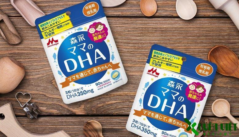 viên uống bổ sung dha morinaga lợi sữa