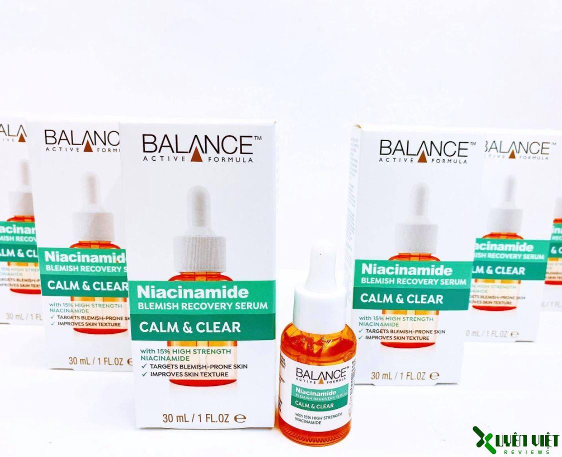 balance active skincare niacinamide blemish recovery serum 4