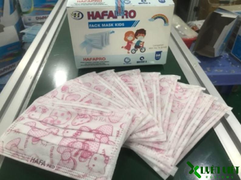 khẩu trang y tế hafapro