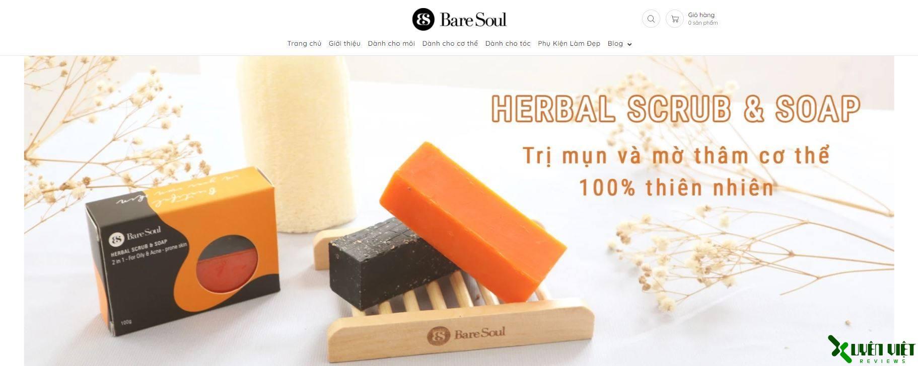 mỹ phẩm bare soul 2