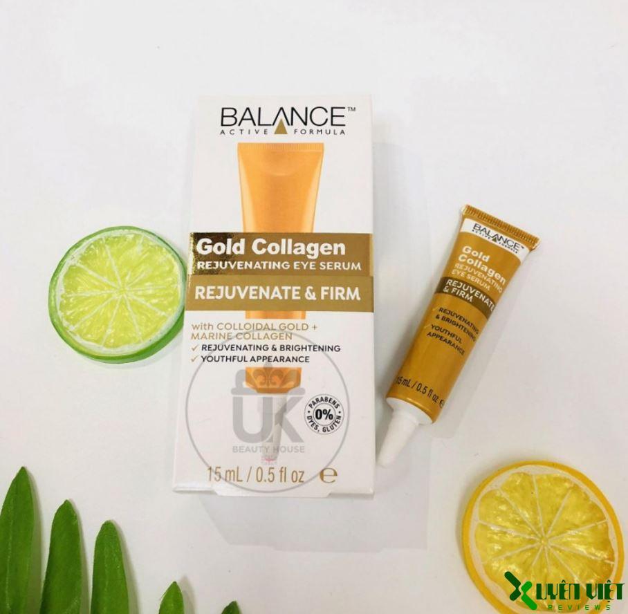 serum balance gold collagen 4