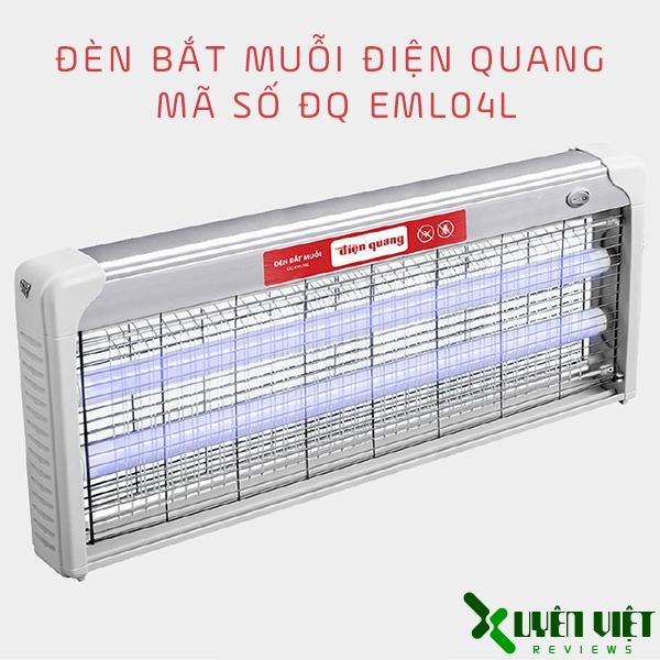 Đèn bắt muỗi Điện Quang mã số ĐQ EML04L