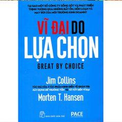 Trang bìa của cuốn sách vĩ đại do lựa chọn