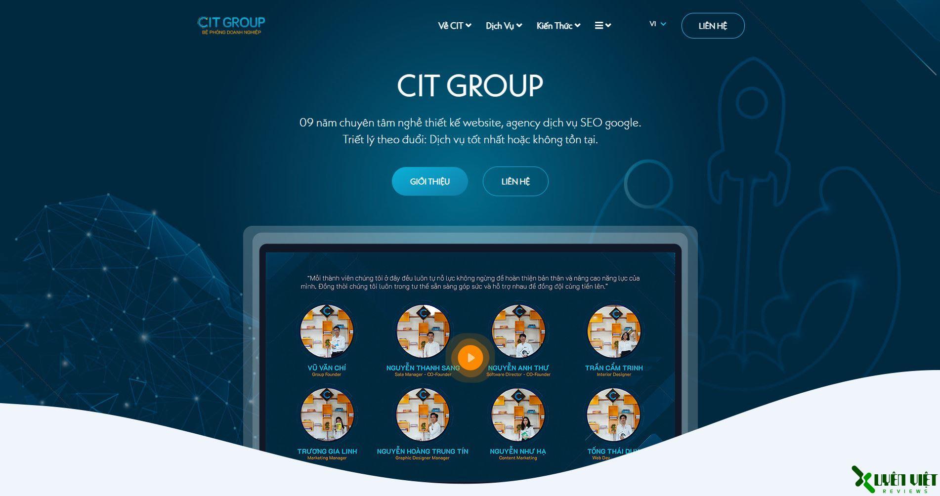 công ty thiết kế web cit group