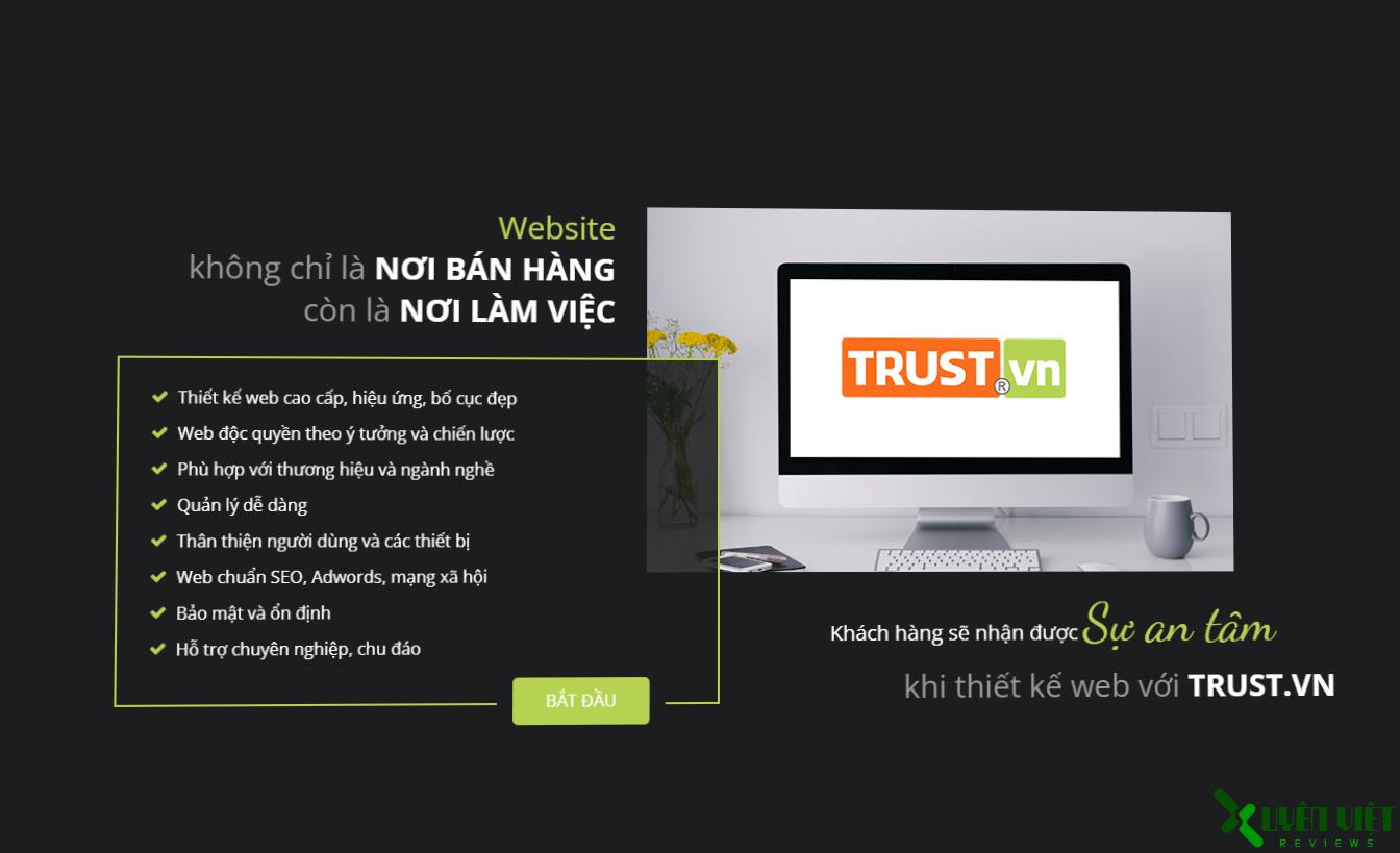 cong ty thiet ke web trust